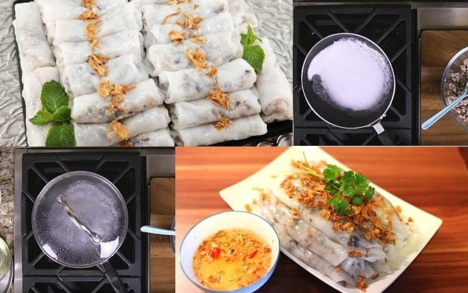 Cách làm bánh cuốn tại Nhật Bản