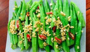 Hấp thu tối đa vitamin và dưỡng chất nhờ ăn đậu bắp đúng cách